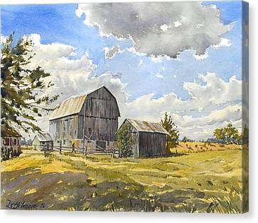 Floyd's Barn No.1 Canvas Print