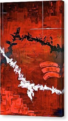 Fluctuation No2 Canvas Print