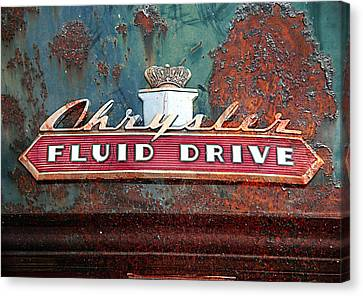 Fluid Drive Canvas Print