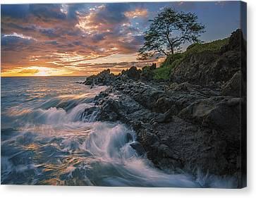 Fluid Motion Canvas Print by Hawaii  Fine Art Photography
