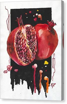 Fluidity 8 - Elena Yakubovich Canvas Print by Elena Yakubovich