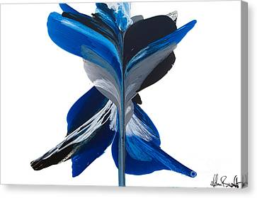 Fluidity - Number 36 Canvas Print