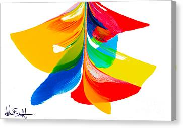Fluidity - Number 6 Canvas Print