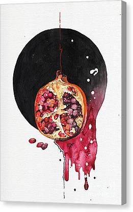 Fluidity Vii - Elena Yakubovich Canvas Print by Elena Yakubovich