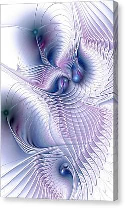 Flux Canvas Print by Anastasiya Malakhova