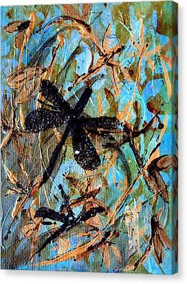 Fly Away Canvas Print by Jo Anne Wyatt