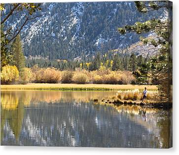 Fly Fishin Canvas Print
