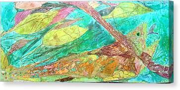 Fly Fishing  Canvas Print by Isaac Alcantar