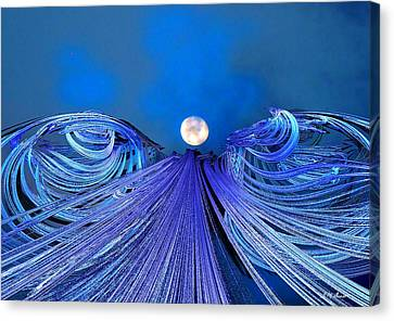 Fly Me To The Moon Canvas Print by Michael Durst