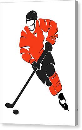 Flyers Shadow Player Canvas Print by Joe Hamilton