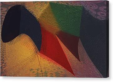 Flying Carpet? Canvas Print