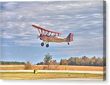 Flying Circus Barnstormers Canvas Print