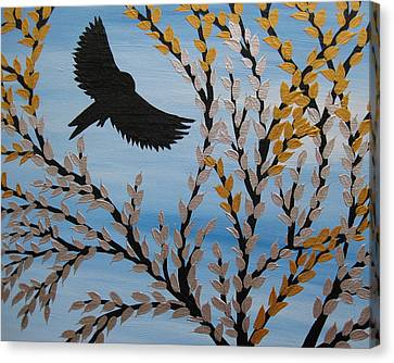 Flying Freely Canvas Print by Cathy Jacobs