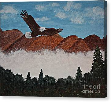 Flying High Canvas Print by Barbara Griffin