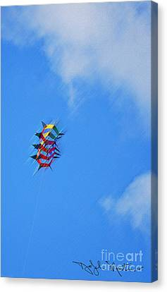 Flying High II  Canvas Print by Art Mantia