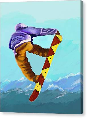 Flying High Canvas Print by Jeanne Fischer