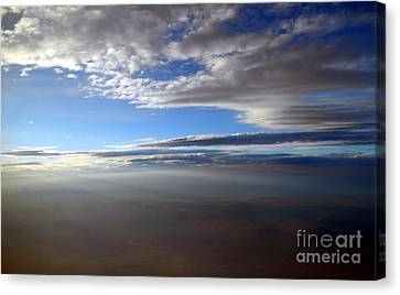 Flying Over Southern California Canvas Print