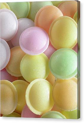 Flying Saucer Sweets Canvas Print