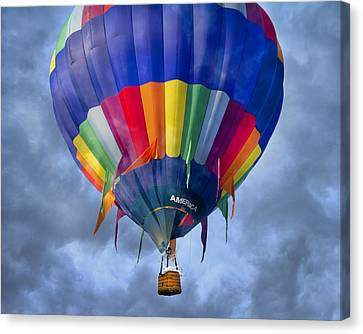 Flying The Coop Canvas Print