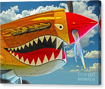 Flying Tiger Canvas Print by Gregory Dyer