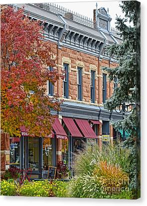 F.miller Block Canvas Print by Keith Ducker