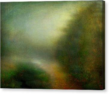 Canvas Print featuring the photograph Fog #3 - Silent Words by Alfredo Gonzalez
