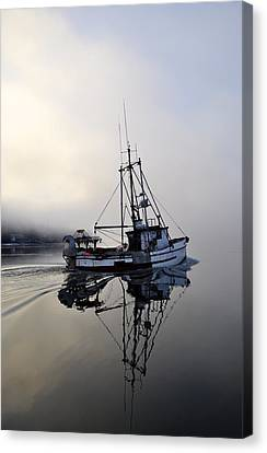 Fog Bound Canvas Print by Cathy Mahnke