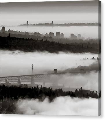 Canvas Print - Fog Lanes by R J Ruppenthal