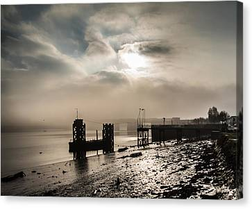 Canvas Print - Fog On The River Medway by Dawn OConnor