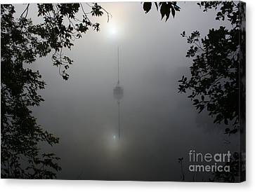 Fog On The Water Canvas Print by Joseph Marquis