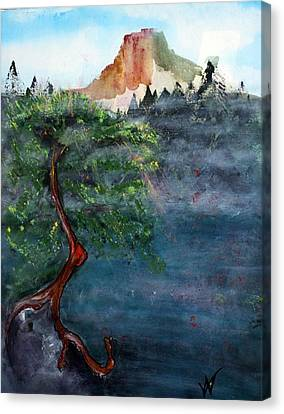 Fog Canvas Print by Valerie Wolf