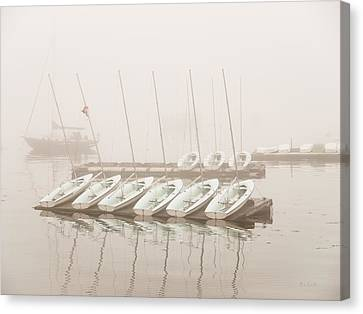 Fogged In Again Canvas Print by Bob Orsillo
