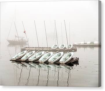 Fogged In Canvas Print by Bob Orsillo