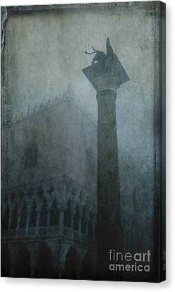 Foggy Morning Canvas Print by Marion Galt