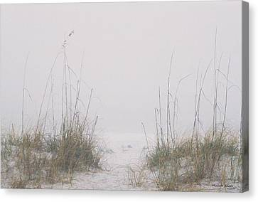 Canvas Print featuring the photograph Foggy Morning by Michele Kaiser