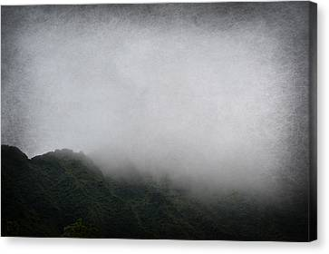 Foggy Mountain Canvas Print