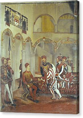 Fogolino, Marcello 1483-1553. Italy Canvas Print by Everett