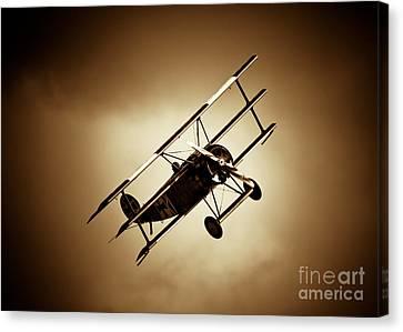 Fokker Dr-1 Canvas Print