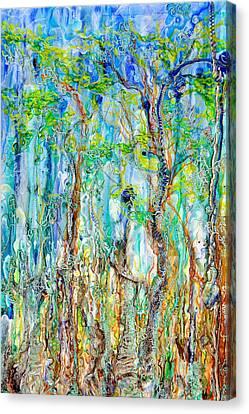 Foliage Melody Canvas Print