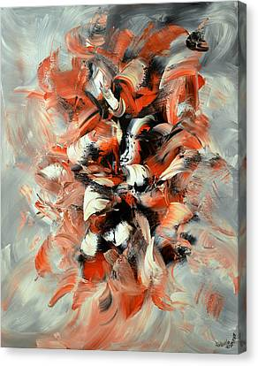 Folies Bergeres Canvas Print by Isabelle Vobmann