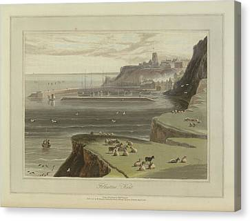 Folkestone Canvas Print by British Library