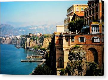 Follow My Heart To Sorrento Canvas Print