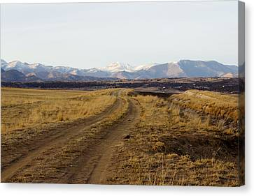 Follow That Road Canvas Print by Dana Moyer