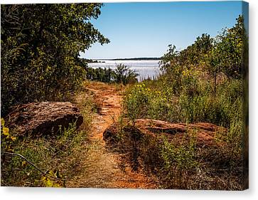 Follow The Path Canvas Print by Doug Long