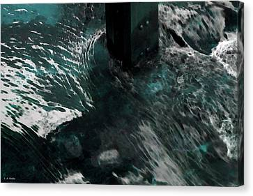 Canvas Print featuring the photograph Follow The Tao by Lauren Radke