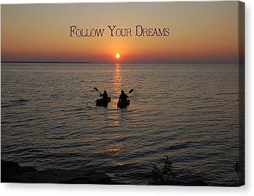 Follow Your Dreams Canvas Print by Aimee L Maher Photography and Art Visit ALMGallerydotcom