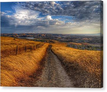 Follow Your Dreams Canvas Print by Brian Maloney