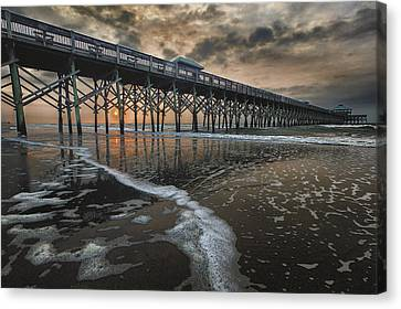 Folly Beach Dawn Canvas Print