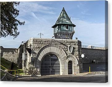 Folsom Prison In Folsom Canvas Print