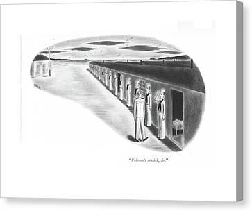 Barrack Canvas Print - Folsom's Seasick by Richard Taylor